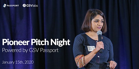 GSVlabs Pioneer Pitch Night tickets