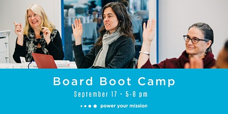 Board Boot Camp - September 17, 2020 tickets