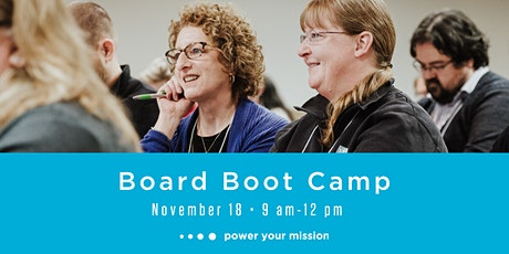 Board Boot Camp - November 18, 2020 tickets