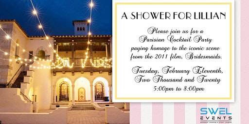 A Shower for Lillan: A Networking Event