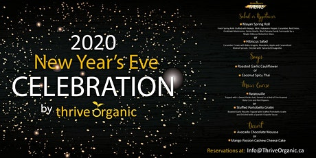New Year's Eve Celebration by Thrive Organic   tickets