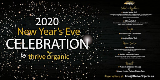 New Year's Eve Celebration by Thrive Organic