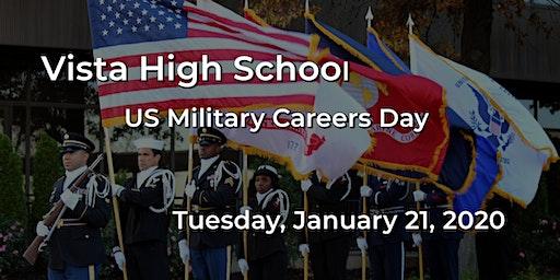 Vista High School US Military Career Day