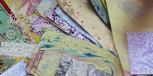 Marbling & Book Binding Workshop - Meadowhall Sessions
