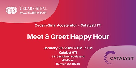 Cedars-Sinai Accelerator: Meet and Greet Denver! tickets