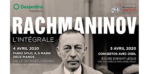 Le piano de Rachmaninov : l'intégrale