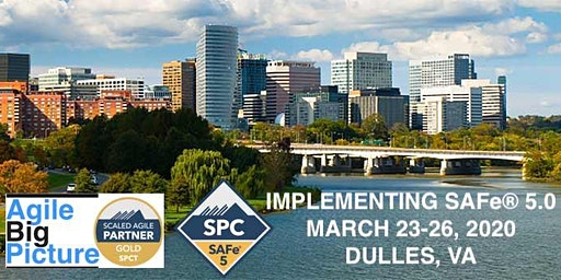 DULLES, VA - Implementing SAFe® 5.0 with SPC Cert *GUARANTEED TO RUN*