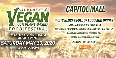 Sacramento's Vegan Food Festival - Spring Edition tickets