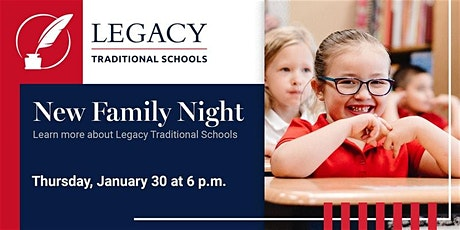 New Family Night at Legacy - East Mesa tickets