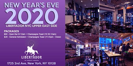 New Years's Eve @ Libertador  Upper East Side -  hosted  by Juliana tickets