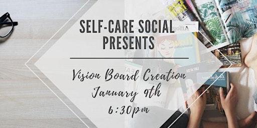 Self-Care Social Vision Boards