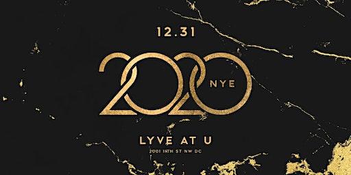 2020 NYE LYVE AT U