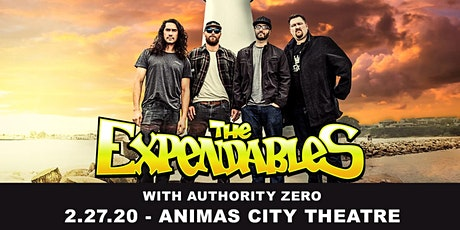 The Expendables W/ Authority Zero tickets