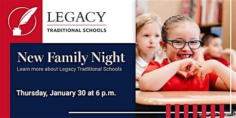 New Family Night at Legacy - Phoenix tickets