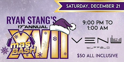 Ryan Stang's 17th Annual XMas Bash!