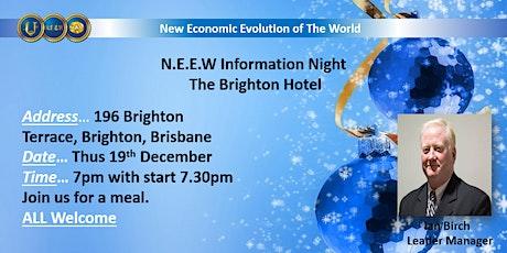 New Economic Evolution Of The World BRIGHTON tickets