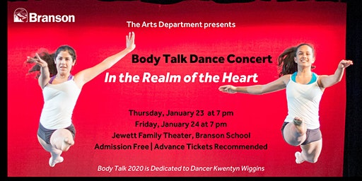 Body Talk 2020 Dance Concert: In the Realm of the Heart