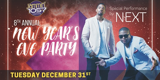 Las Vegas New Years Party Jammin 1057 8th Annual + Dinner Pkg +VIP Tables