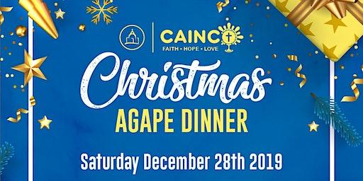 CAINCO Christmas Agape Dinner