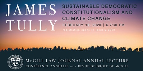 Sustainable Democratic Constitutionalism and Climate Change tickets