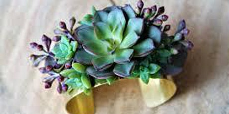 Crafturday! Succulent Bracelet Workshop tickets