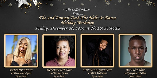 General Tickets: The 2nd Annual Deck The Halls & Dance Holiday Workshop
