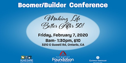 Boomer/Builder Conference