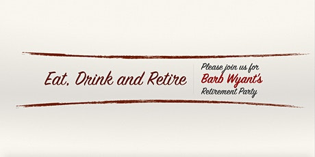 Barb's Retirement Party tickets