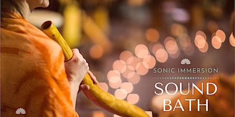 Sonic Immersion: Sound Bath tickets