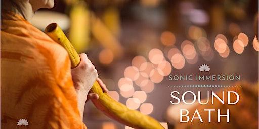 Sonic Immersion: Sound Bath