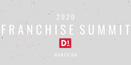D1 Franchise Summit 2020 tickets