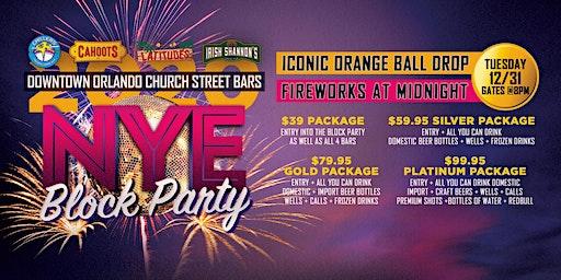 NYE 2020 Church Street Block Party | Fireworks & Iconic Orange Ball Drop