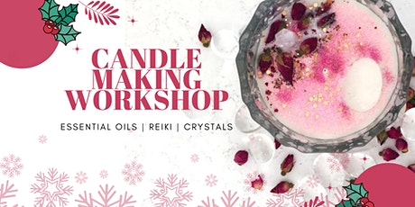 Christmas candle making workshop tickets