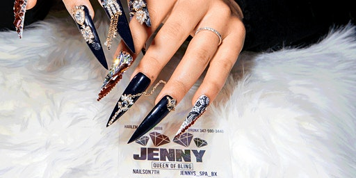 """Couture Nail Designs & Styles""  - Jenny Bui, Queen of Bling"
