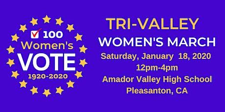Tri-Valley Women's March tickets
