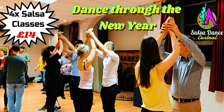 January Salsa Course 4x weekly Classes tickets