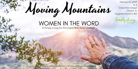 Simply Living for Him Women's Event tickets