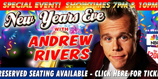 Special Event: New Year's Eve Comedy with Andrew Rivers!