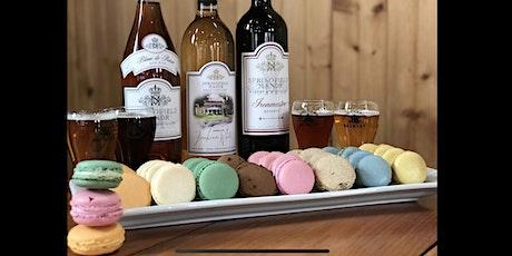 Valentine Macaron & Wine or Beer Pairing 2/15 tickets