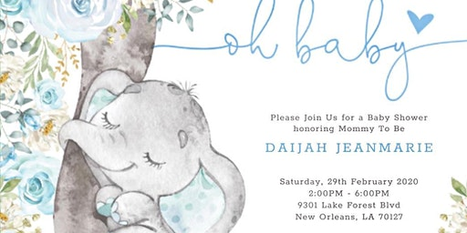 Daijah's Baby Shower