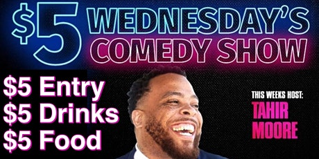 $5 Wednesday's Comedy Show - Ballin' On A Budget tickets