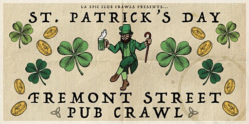The Official St Patrick's Day Pub Crawl - Fremont Street Las Vegas