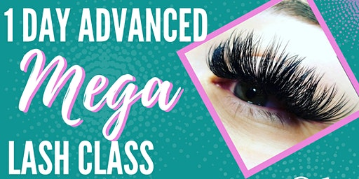 1-Day Advanced Mega Lashed by H Lash Extension Class