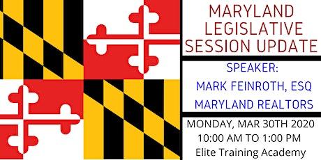 MREEA - Legislative Session update tickets