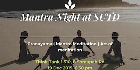 Mantra Meditation Night (Free Meditation/Music/Dinner) tickets