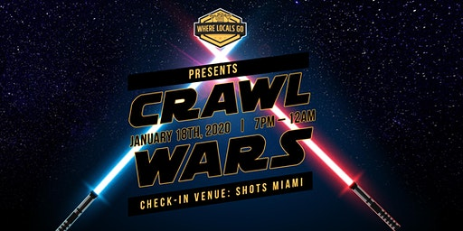 3rd Annual Crawl Wars - Wynwood