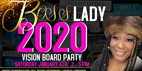 BOSS LADY 2020 VISION BOARD PARTY tickets