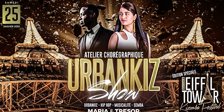 Danse urbaine de couple kizomba, hip hop, urbankiz / Atelier chorégraphique billets