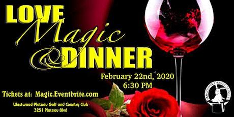 Love, MAGIC & Dinner tickets