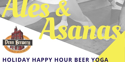 Holiday Happy Hour Beer Yoga